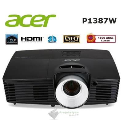 Acer P1387W Projeksiyon Cihazı