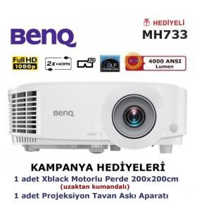 BenQ MH733 Kampanya (Motorlu Perde ve Askı Hediyeli)