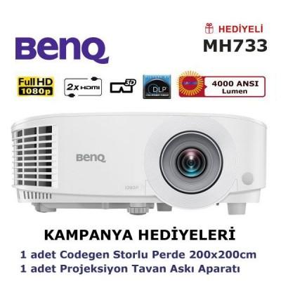 BenQ MH733 Kampanya (Storlu Perde ve Askı Hediyeli)