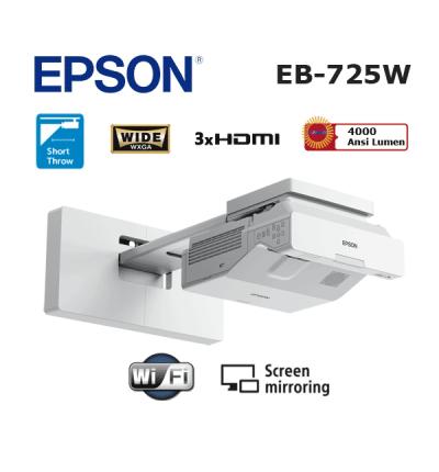 Epson EB-725W Lazer Projeksiyon Cihazı (Ultra Kısa Mesafe)