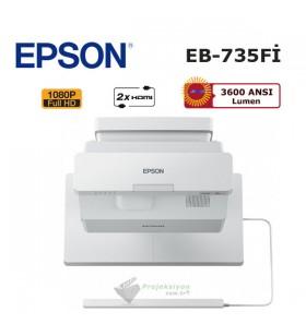 Epson EB-735Fİ Lazer Projeksiyon Cihazı (Ultra Kısa Mesafe)