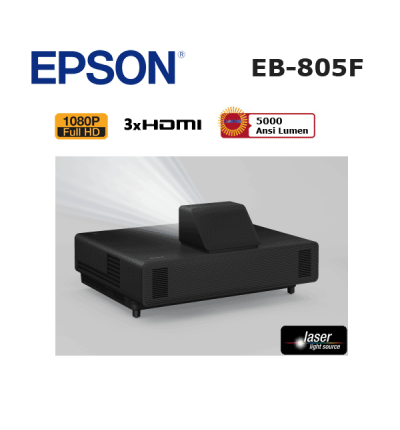 Epson EB-805F Lazer Projeksiyon Cihazı (Ultra Kısa Mesafe)