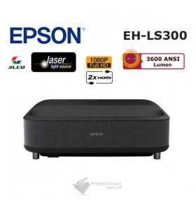 "Epson EH-LS300B Lazer Ev Sinema Projeksiyonu + Epson ELPSC36 120"" Perde"