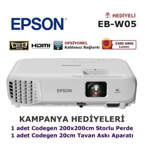 EPSON EB-W05 Projeksiyon Kampanyası (Askı Aparatı Hediyeli)
