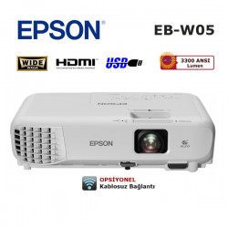 EPSON EB-W05 HD WXGA Projeksiyon Cihazı