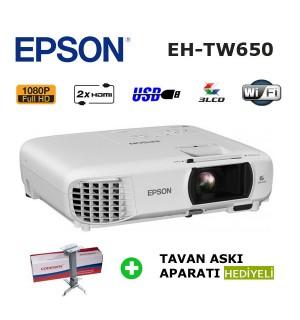 EPSON EH-TW650 Kablosuz Ev Sinema Projeksiyon Cihazı