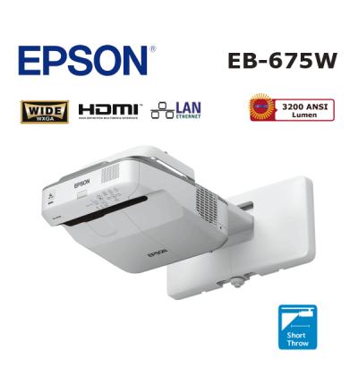 Epson EB-675W Ultra Kısa Mesafe Projeksiyon