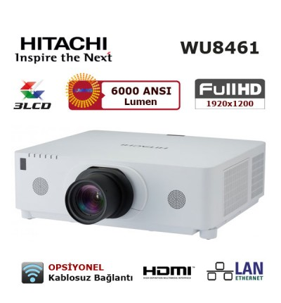 Hitachi CP-WU8461 FULL HD Projeksiyon Cihazı