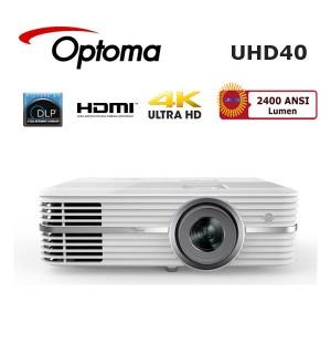 Optoma UHD40 Ultra HD 4K Ev Sinema Projeksiyon Cihazı