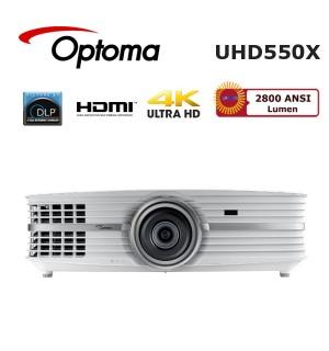 Optoma UHD550X Ultra HD 4K Ev Sinema Projeksiyon Cihazı
