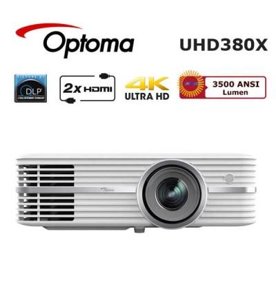 Optoma UHD380X 4K UHD Smart Ev Sinema Projeksiyonu
