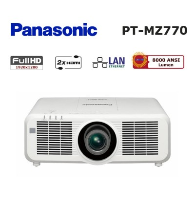 Panasonic PT-MZ770 Projeksiyon Cihazı