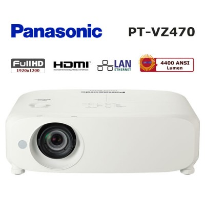 Panasonic PT-VZ470 Full HD Projeksiyon Cihazı