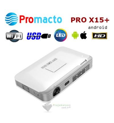 Promacto Pro X15 Plus Android Mini Led Projeksiyon Cihazı