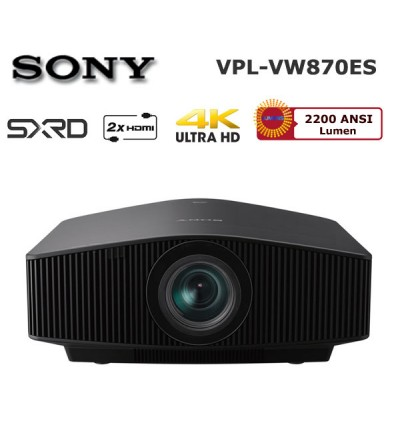 Sony VPL-VW870ES 4K Ev Sinema Projeksiyon Cihazı