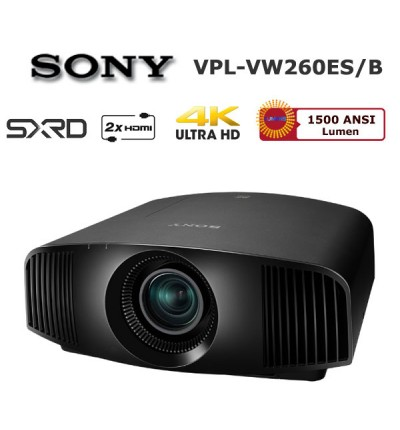 SONY VPL-VW260ES 4K Ev Sinema Projector (Siyah)