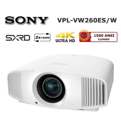 SONY VPL-VW260ES 4K Ev Sinema Projector (Beyaz)