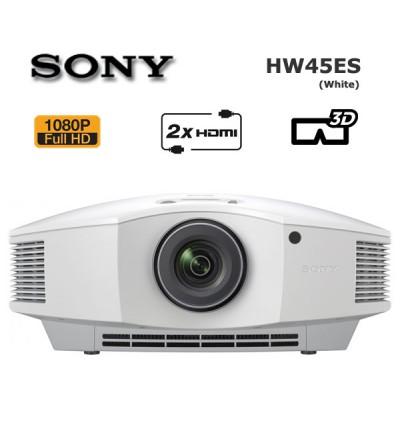 Sony VPL-HW45ES 3D Ev Sinema Projeksiyon (Beyaz Renk)