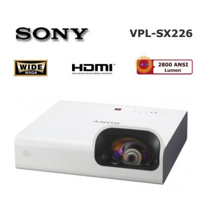 Sony VPL-SX226 Kısa Mesafe Projeksiyon Cihazı
