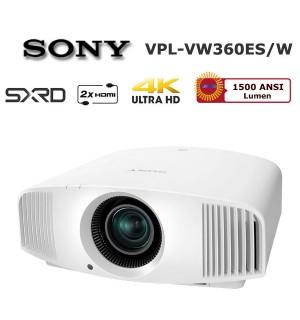 SONY VPL-VW360ES 4K Ev Sinema Projektör (Beyaz)
