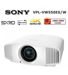 SONY VPL-VW550ES 4K Ev Sinema Projeksiyonu (Beyaz)
