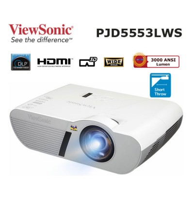 Viewsonic PJD5553LWS HD Kısa Mesafe Projeksiyon