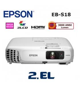 EPSON EB-S18 İkinci El Projeksiyon Cihazı