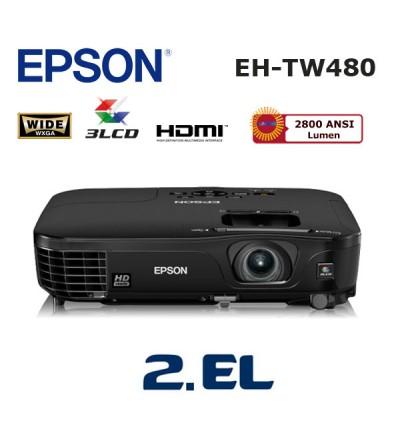 EPSON EH-TW480 İkinci El Ev Sinema Projeksiyon Cihazı