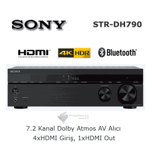 SONY STR-DH790 Ev Sinema AV Alıcısı 7.2 Kanal