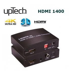 Uptech HDMI1400 HDMI to HDMI + Audio Converter