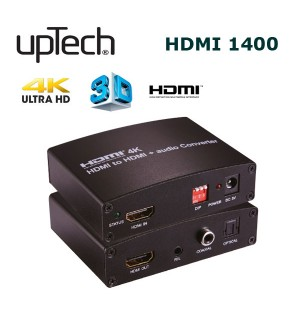 Uptech HDMI1400 HDMI to HDMI + Audio Converter