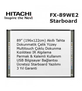 Hitachi Starboard FX-89WE2 Akıllı Tahta