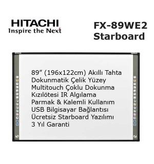 Hitachi Starboard FX-89WE2 Akıllı Tahta
