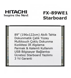 Hitachi Starboard FX-89WE1 Akıllı Tahta