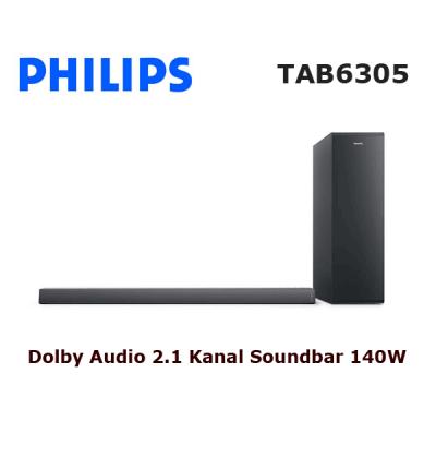 PHILIPS TAB6305 Soundbar Ses Sistemi (Siyah)