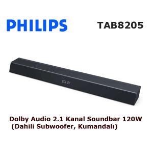 PHILIPS TAB8205 Soundbar Ses Sistemi