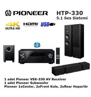 Pioneer HTP-330 5.1 Ev Sinema Ses Sistemi (Teşhir Ürünü)