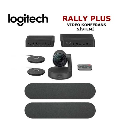 Logitech Rally Plus Video Konferans Sistemi (960-001224)