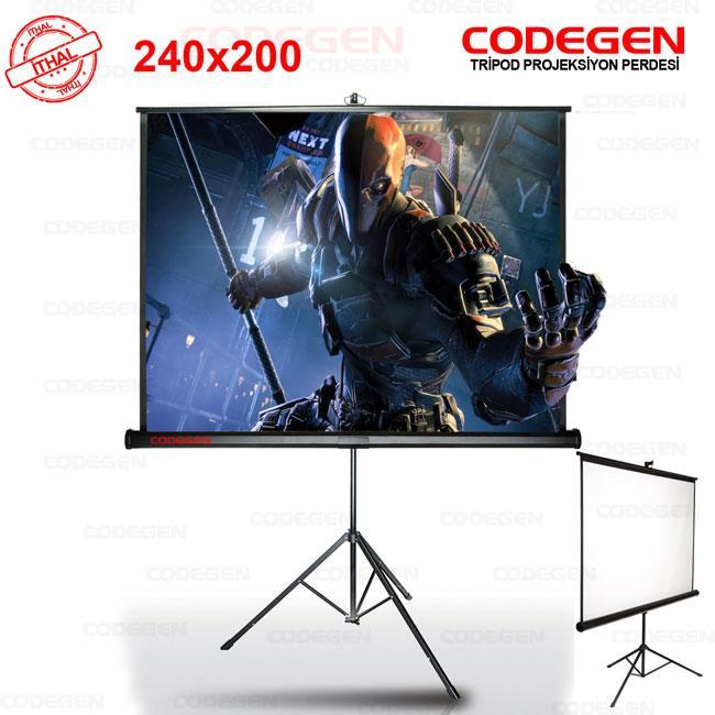 codegen tx-24 tripod projeksiyon perdesi