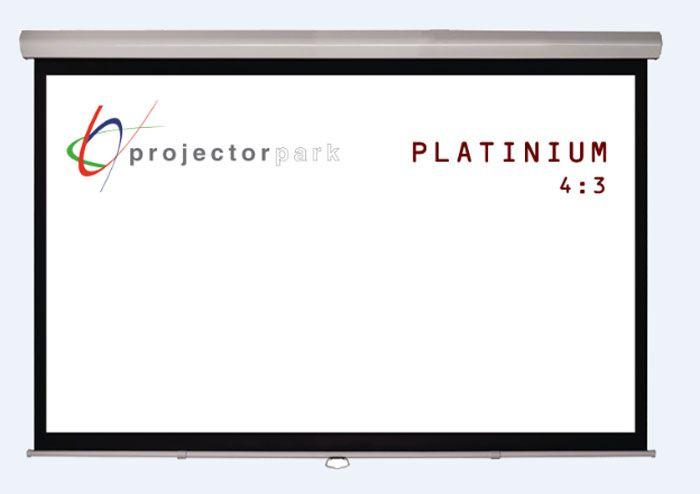 projectorpark platinium storlu projeksiyon perdesi