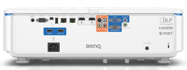 benq lu950 projeksiyon cihazi arka panel bağlantılar