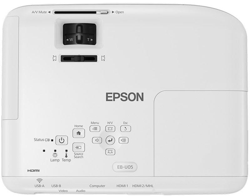 epson eb-u05 full hd projeksiyon cihazi