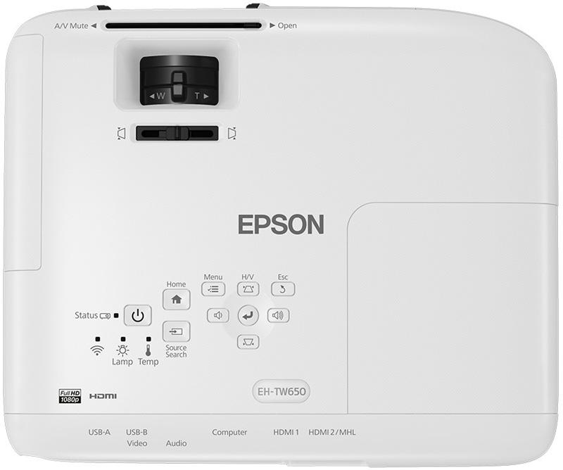 epson eh-tw650 full hd ev sinema projeksiyonu