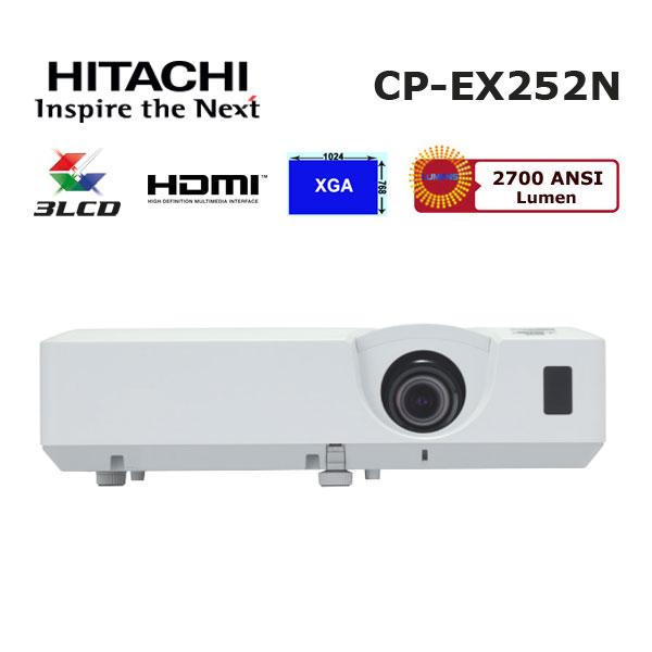 hitachi cp-ex252n projeksiyon cihazi